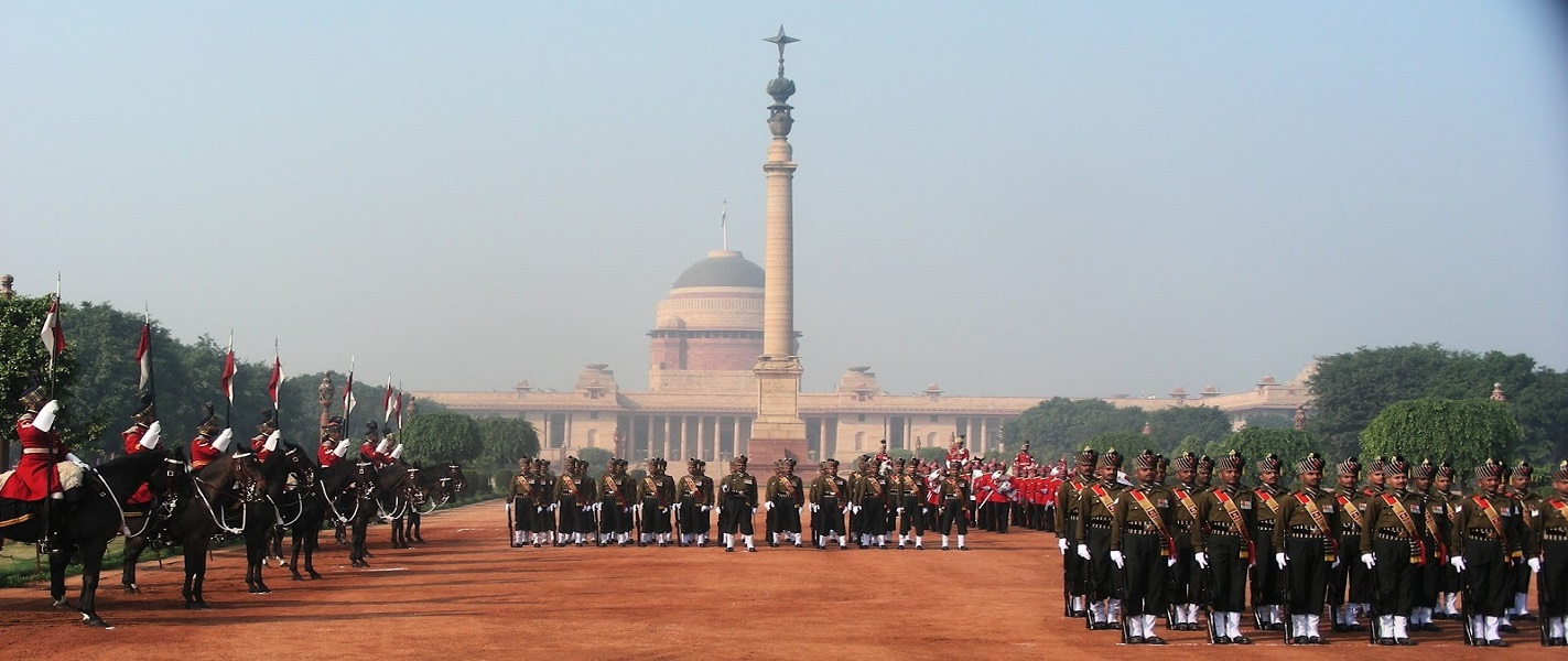 guard ceremony at rashtrapati bhawan