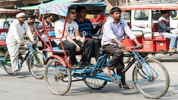 Image result for rickshaw rides in delhi